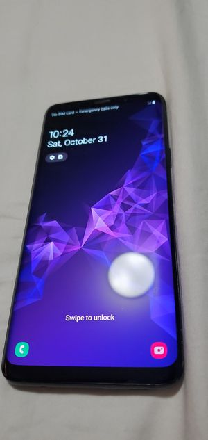Samsung s9+ unlocked to any carrier for Sale in Avondale, AZ