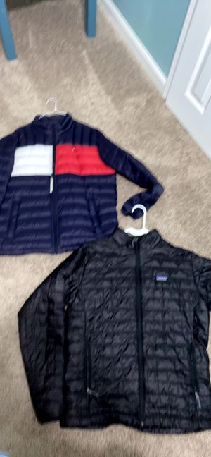 Tommy Hilfiger and Patagonia coats for Sale in Covington, KY