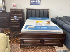 WE ARE OPEN! BEAUTIFUL NEW GLORIA QUEEN BEDROOM SET ON SALE ONLY $999. KING $1099. IN STOCK, SAME DAY DELIVERY! FINANCING for Sale in Tampa, FL