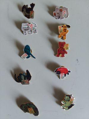 TY McDonalds TEENIE BEANIE BABIES BABY CREW PINS rare pin lot 10. for Sale in Hyattsville, MD