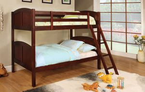 Twin Wood Bunk Beds with 2 mattress. New. for Sale in Montgomery, AL