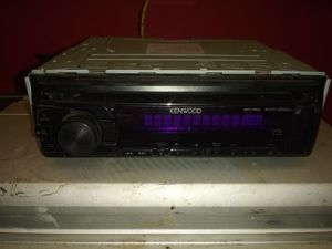 """Kenwood Deck/Amp/Show more + 12"""" Car Subwoofers Audiobahn AW12 for Sale in Wichita, KS"""