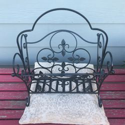 Wrought Iron Magazine Rack for Sale in West Covina, CA