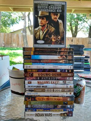 Western DVD's for Sale in Austin, TX