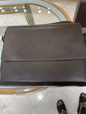 Vintage Leather Louis Vuitton laptop bag for Sale in Flower Mound, TX