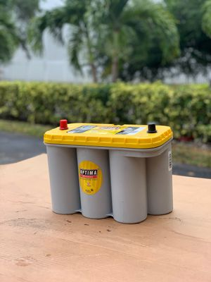 GROUP 31 YELLOW TOP OPTIMA BATTERIES for Sale in Miami, FL