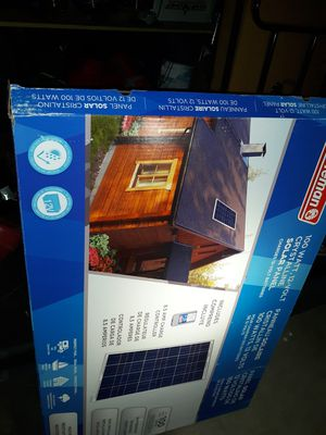 Coleman 100w solar panel for Sale in Lancaster, CA