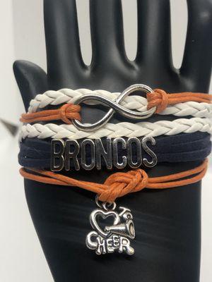 Denver Broncos Fan Bracelet for Sale in Olympia, WA