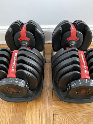 Bowflex Adjustable Weights 52.5lbs each for Sale in Queens, NY