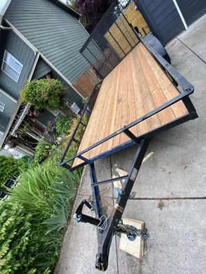 Flatbed 7'x16' w/ramps for Sale in Vancouver, WA