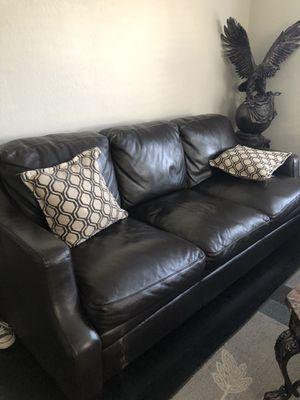 Italian leather sofa for Sale in Modesto, CA