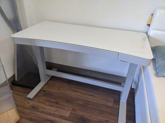 Glass Student Desk 48-in X 24-in White for Sale in Santa Ana,  CA