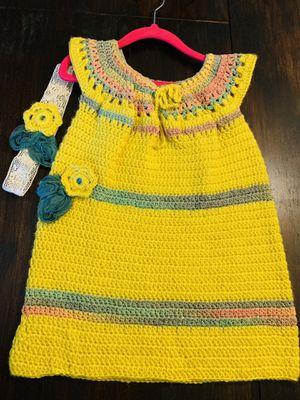 Crochet dress for little girls for Sale in Las Vegas, NV