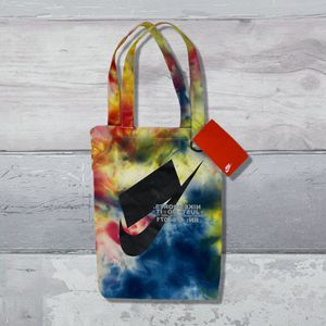 NIKE Heritage Just Do It Reusable Heavy Canvas Tote Bag Ice Dye Tie Dye 17x11x6 for Sale in Las Vegas, NV