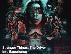 Stranger Things Drive into Experience for Sale in Midway City, CA
