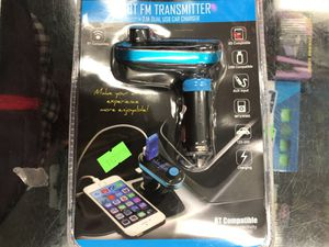 Bluetooth Fm Transmitter for cars for Sale in Los Angeles, CA