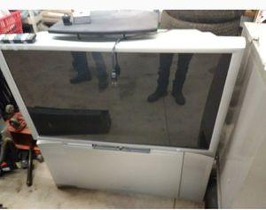 HITACHI FLOOR MODEL SURROUND TV for Sale in Greensburg, PA