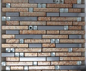Stainless steel glass and mosaic for Sale in Anaheim, CA