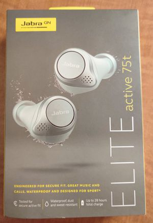 Jabra Elite Active 75t TRULY Wireless, BLUETOOTH EARBUDS! for Sale in Salt Lake City, UT