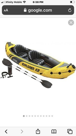 Intex 2 person inflatable kayak for Sale in PA, US