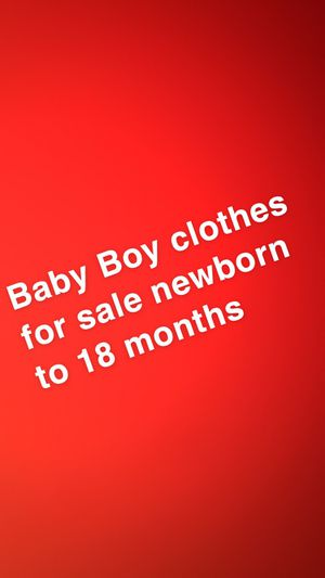 18 months to newborn for Sale in Houston, TX