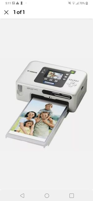 Canon SELPHY. - (New) CP730 - Digital Photo Thermal Printer for Sale in Lutz, FL