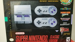 Super Nintendo classic edition for Sale in New York, NY