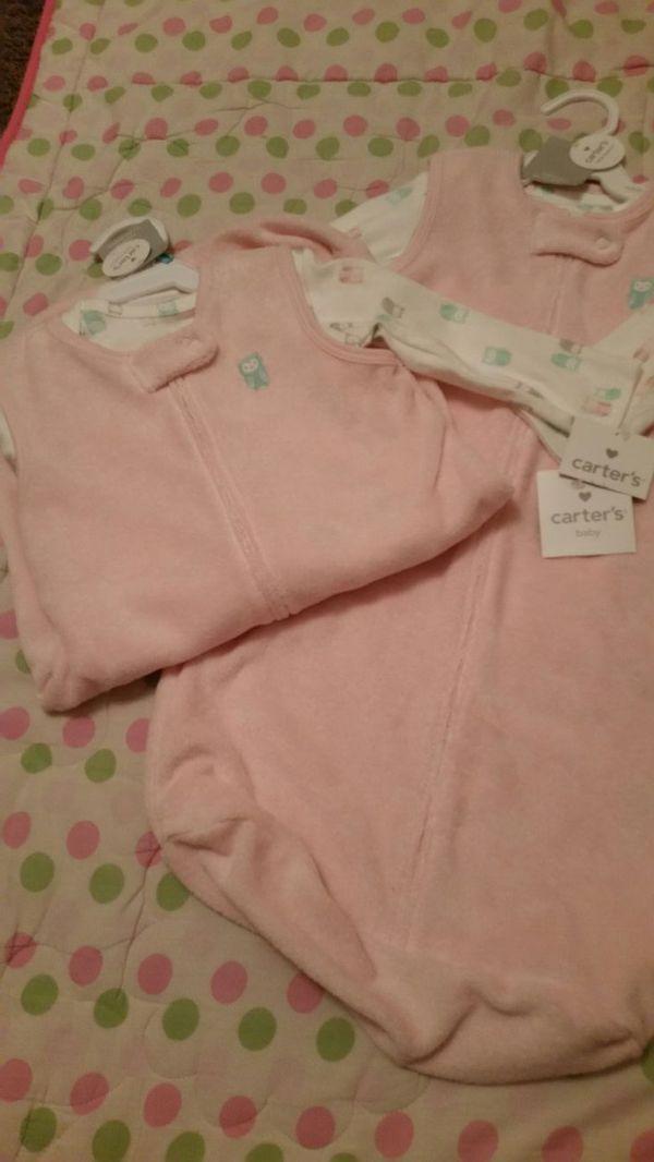 Tee and sleepbag (3-6months)