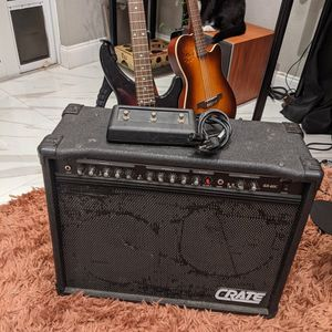 2x8 Guitar Amp+Cab combo, Crate for Sale in Fort Lauderdale, FL