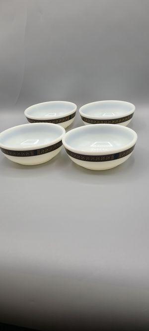Pyrex Black Gold Ebony Bowls for Sale in Phoenix, AZ