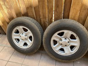 2016 Jeep Wrangler wheels and tires for Sale in Stockton, CA