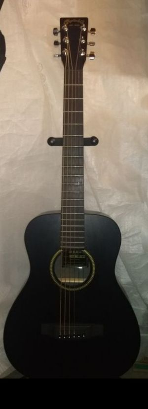 Martin XL BLK this Guitar retails@ 399+ t. W bag & needs new strings. not a scratch on it! No Spa required it's a MARTIN! for Sale in Spring, TX