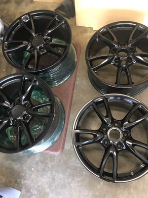 "Black Porsche 911 Rims 18"" for Sale in Glendora, CA"