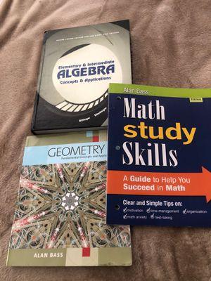 Algebra books for Sale in Spring Valley, CA