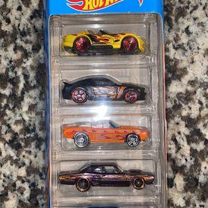 Hot Wheels HW Flames 5pk for Sale in Houston, TX