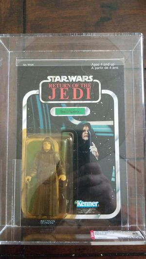 1983 Kenner Canada Star Wars Return Of The Jedi ROTJ Emperor Palpatine AFA 85 77 Back-A for Sale in Lakewood, CA