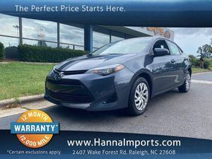 2019 Toyota Corolla for Sale in Raleigh, NC