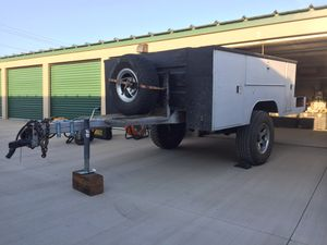 Utility bed trailer with electric brakes for Sale in Springfield, IL