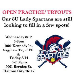 DFW Spartans Softball for Sale in Fort Worth, TX
