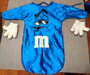 Blue M&M Infant Halloween Costume (PICK UP ONLY Northeast side) for Sale in Bakersfield, CA