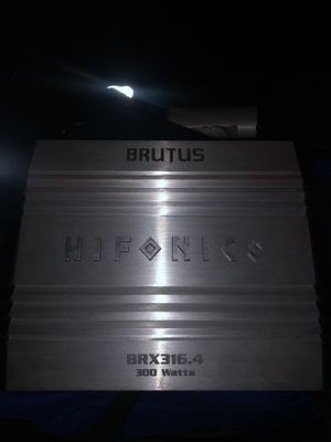 Hifonics amp for Sale in East Los Angeles, CA