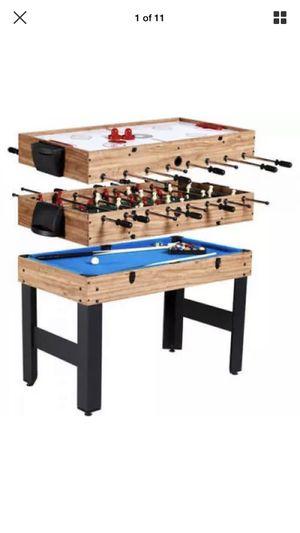 3 in 1 Pool Table / Air Hockey / Foosball for Sale in Orlando, FL