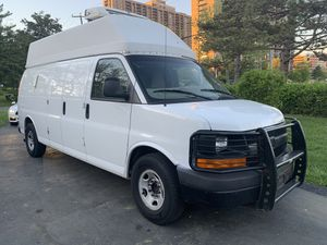 11 Chevy express cargo van hi Top With Reefer runs and looks like new automatic AC power windows and doors Locks keyless entry one owner highly maint for Sale in Alexandria, VA