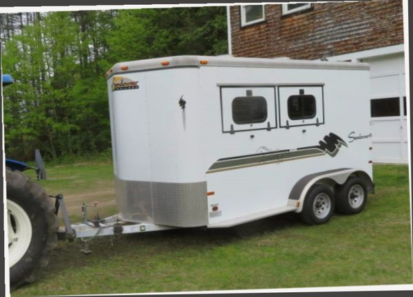 Price $1000/Nice Looking Horse Trailer For Sale.