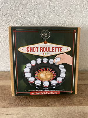 Shot Roulette Drinking Game for Sale in Fresno, CA