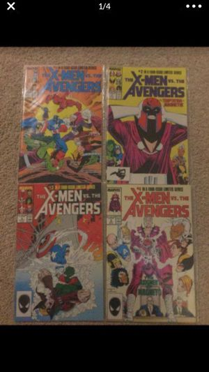 The X-men vs the Avengers 1-4 comic for Sale in Selma, TX