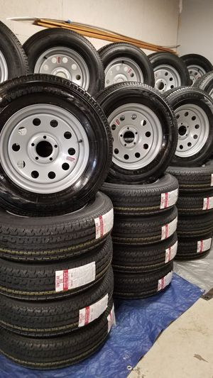 NEW TRAILER AND CAMPER TIRES/WHEELS STARTING AT $70+ TAX EACH for Sale in Douglasville, GA