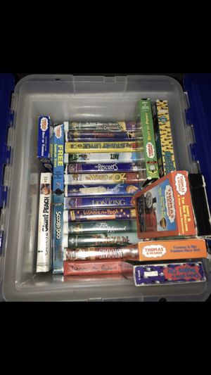 VHS MOVIES for Sale in Riverside, CA