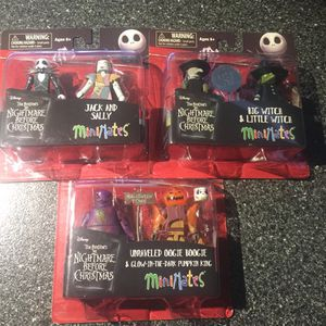 The Nightmare Before Christmas MINIMATES for Sale in Queens, NY