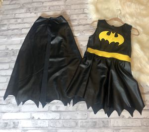 faux leather bat girl costume for Sale in Bakersfield, CA
